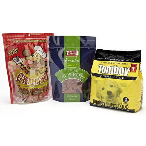 Pet Foods Packaging Pouches